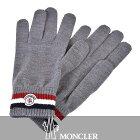 モンクレール 手袋 ウール ニットグローブ MONCLER 2015 2 09 1 00549 グレー