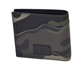 ヴァレンチノ 折財布 VALENTINO QY2P0445TND グリーンカモフラージュ メンズ