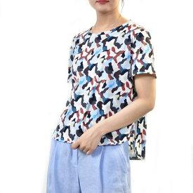 マックスマーラ ウィークエンド プリントTシャツ MAXMARA WEEKEND PALO 59410791 001 マルチ