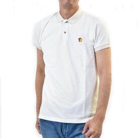 アトランティック スターズ メンズ 半袖 カジュアル ポロシャツ ATLANTIC STARS AMS1916 00 ホワイト ギフト プレゼント
