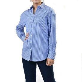 マックスマーラ ウィークエンド コットンシャツ ブラウス MAXMARA WEEKEND LOCUSTA 015 ブルー レディース プレゼント ギフト