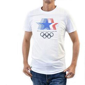 ラコステ メンズ 半袖 クルーネックTシャツ LACOSTE TH4183 SBH ホワイト フララコ ヨーロッパライン 訳あり