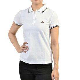 モンクレール 半袖 ポロシャツ MONCLER 8A702 00 84667 1 ホワイト レディース プレゼント ギフト P5