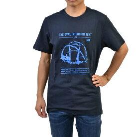 ザノースフェイス GRAPHIC Tシャツ THE NORTH FACE NF0A493MH2G1 ネイビー メンズ メール便無料 父の日 ギフト 【Mサイズのみ ラスト1点 セール】
