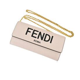 FENDI チェーンウオレット 8M0365ADP6F1CN7 Fendi Roma ピンク 【0203】 プレゼント ギフト ホワイトデー ラスト1点セール