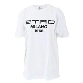 エトロ ロゴTシャツ ETRO 14517 9468990 ホワイト