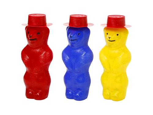 Pustefix プステフィクス クマのシャボン玉(赤・青・黄色)〜Pustefixの代名詞!可愛らしいクマのケースのシャボン玉です。