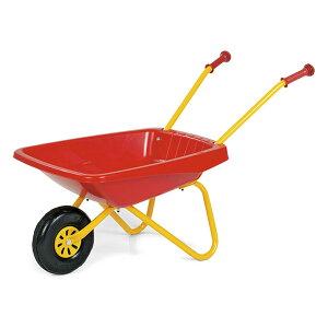 Rolly Toys ロリートイズ CLASSIC SUMMER 一輪車 Red〜重たい荷物もラクラクの一輪車(猫車)♪ドイツ・Rolly Toysのヨーロッパの農場を思わせるカワイイ砂場遊びのおもちゃです。【ラッピング不可】