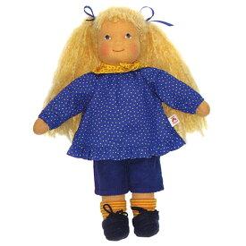 Heidi Hilscher ハイデ ヒルシャー Leonie レオニー〜ドイツの小さな街ウルムに工房をかまえるハイデ ヒルシャーの手作りのお人形です。自然素材で作られています。