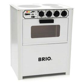 BRIO ブリオ レンジ(白)〜BRIOのおままごとキッチンシリーズ。クラシックなデザインが素敵な木製キッチンです。