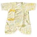 [メール便可] NAOMI ITO ナオミイトウ わたガーゼ コンビ肌着 ibuki(いぶき)〜NAOMI ITO(ナオミイトウ)の赤ちゃんの肌…
