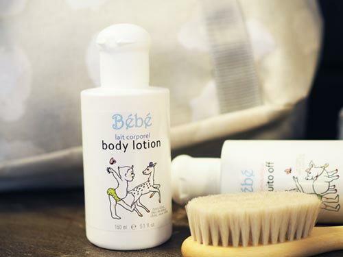 Senteur et Beaute サンタールエボーテ Bebe べべ・ボディローション〜赤ちゃんやお肌の弱い方でも安心してお使いいただける、フランスBebeシリーズ「Bebeべべ・ボディローション」です。