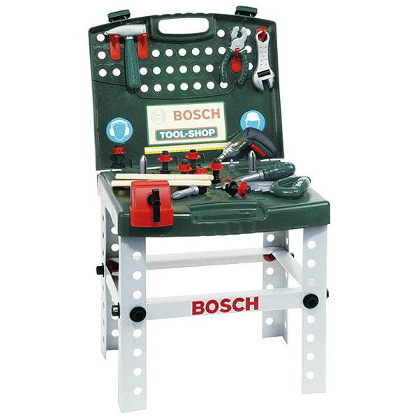 BorneLund ボーネルンド クライン BOSCH(ボッシュ) ミニワークセンター〜ボーネルンドのボッシュの工具セットを本物そっくりに真似たおもちゃです。いつでもどこでも大工さんごっこが楽しめます。