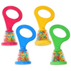 BorneLund ボーネルンド ハリリット ニューベビーマラカス〜イスラエルの子供用楽器・楽器玩具メーカー・ハリリットの赤ちゃんから楽しめるマラカスです。はじめてのリズム遊びにピッタリ♪