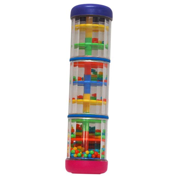 BorneLund ボーネルンド ハリリット ミニ レインボーメーカー〜イスラエルの子供用楽器・楽器玩具メーカー・ハリリットの波の音、雨の音、風の音と、振り方によって様々な音が再現できるシェーカーです。