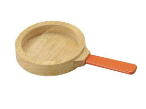 [メール便可] Ed.inter エドインター 木のままごとあそび New フライパン〜エドインターの木製のおままごと用料理道具です。