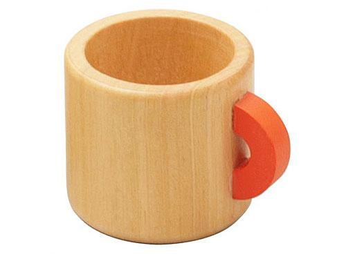 Ed.inter エドインター 木のままごとあそび マグカップ〜エドインターの木製のおままごと用食器です。