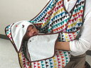 Ficelle フィセル - BOBO ボボ バスエプロン〜お風呂上がりの赤ちゃんの体をだっこしながら拭いてあげられるタオル地のエプロン。おくるみとしても使える...