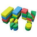一歩社 はじめしゃ カドまるつみき〜一歩社(はじめしゃ)の柔らかくて安全性の高い素材で作られたブロック。角丸加工をしている安全ブロックです。