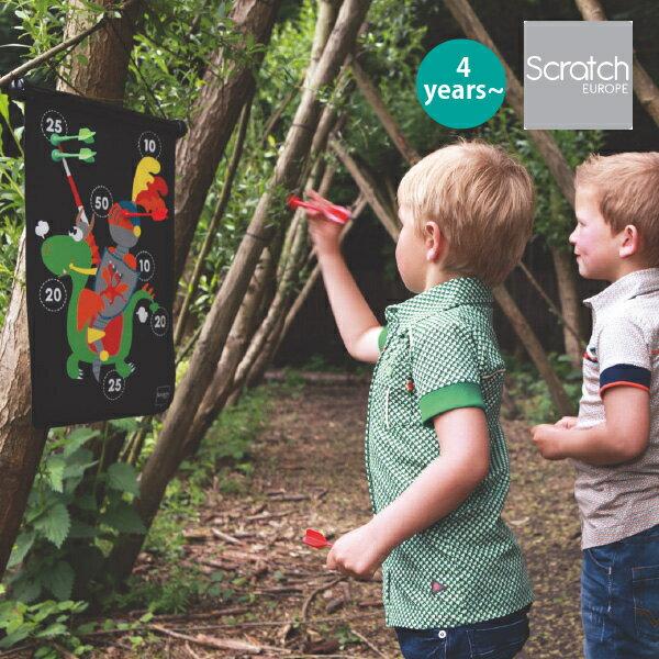 Scratch スクラッチ マグネティックダーツ 騎士 4歳、5歳の男の子、女の子の誕生日、クリスマスのプレゼントに人気。ベルギー生まれのScratch スクラッチのおもちゃです。