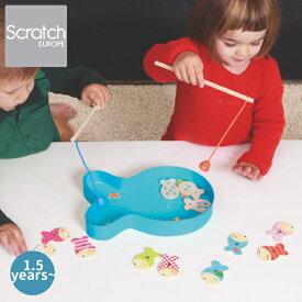 Scratch スクラッチ フィッシュゲーム クラシック ハーフバースディ、1歳、2歳の男の子、女の子の誕生、クリスマスプレゼントに人気。ベルギー生まれのScratch スクラッチの知育玩具。