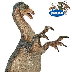 PAPO パポ社 テリジノサウルス フランス、PAPO(パポ社)のDinosaurs ダイナソーシリーズ、恐竜のフィギュア。リアルな表情が魅力のフィギュアです。
