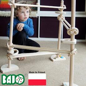 Bornelund ボーネルンド BAJO バヨ マーブルラン3タワー BorneLund(ボーネルンド)BAJO バヨ社の、男の子、女の子の3歳、4歳、5歳の誕生日やクリスマスプレゼントにオススメの、ヨーロッパ(ポーランド製)の木のおもちゃです。