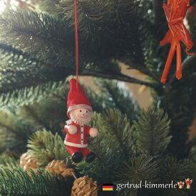 Kimmerle キマール社 クリスマス 木製オーナメント サンタクロース 4cm
