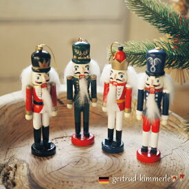 Kimmerle キマール社 クリスマス 木製オーナメント くるみ割り人形 12cm