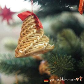 Kimmerle キマール社 クリスマス ストローオーナメント ベル 6cm
