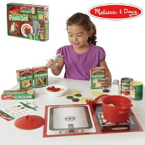 Melissa & Doug メリッサ&ダグ おままごと パスタセット 3歳、4歳の男の子、女の子のお誕生日プレゼントやクリスマスプレゼントにおすすめ。アメリカの大手玩具メーカーMelissa & Doug(メリッサ&