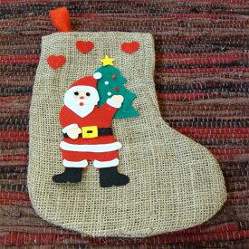 [メール便可] Kimmerle キマール社 サンタクロースのくつ下〜ドイツ・キマール社のクリスマスにぴったりな大きなサンタクロースの靴下です。