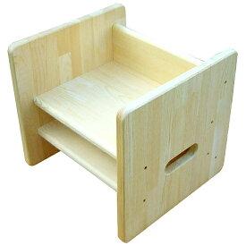 木遊舎 ちびっ子チェアステップ4(白木)〜木遊舎の自社工房で手作りされた日本製の木製キッズチェア。座面が4段階に高さが変わります。【簡易ラッピング】【代引き決済不可】