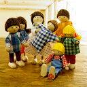 Herwig ヘアビック社 ドールハウス用 人形 7人家族セット〜ドイツ・Herwig(ヘアビック社)のドールハウス 人形の家に…