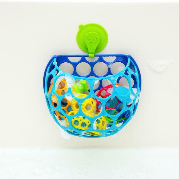 オーボール H2O オースクープ〜お風呂で遊べるオーボール『H2O』シリーズ!お風呂場が安全で機能的なトレーニングルームに変身♪ お風呂のおもちゃを一気にお片付けできる『オースクープ』です。
