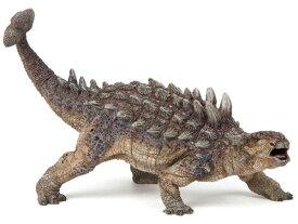 PAPO パポ社 アンキロサウルス〜フランス、PAPO(パポ社)のDinosaursシリーズ、恐竜のフィギュア。大迫力のアンキロサウルスのフィギュアです。