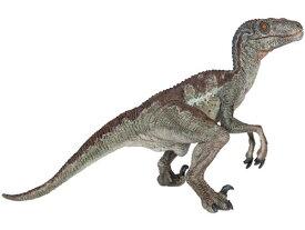 PAPO パポ社 ヴェロキラプトル〜フランス、PAPO(パポ社)のDinosaursシリーズ、恐竜のフィギュア。大迫力のヴェロキラプトルのフィギュアです。