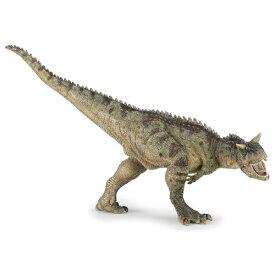 PAPO パポ社 カルノサウルス〜フランス、PAPO(パポ社)のDinosaursシリーズ、恐竜のフィギュア。大迫力のカルノサウルスのフィギュアです。