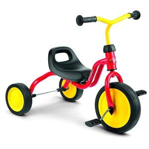 PUKY プッキー社 三輪車 フィッチ FITSCH レッド〜ドイツ・PUKYのお子さまの初めての乗り物にオススメなマイ・ファースト・プッキー・シリーズ。1歳半頃から遊べる三輪車です。【ラッピング