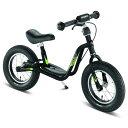 PUKY プッキー社 ラーニングバイク LR XL ブラック(後輪ブレーキ付き)〜ドイツ・PUKYの3歳頃から遊べる足けり自転車(キックバイク)『ラーニングバイ...