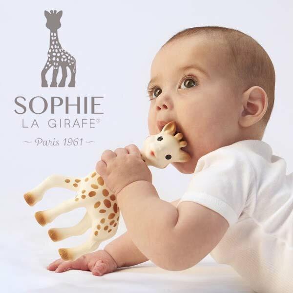 Vulli ヴュリ社 キリンのソフィー〜赤ちゃんの初めてのお友達にオススメなフランスからやってきたお人形『きりんのソフィー』。キリンのソフィーは赤ちゃんの五感を刺激ます♪