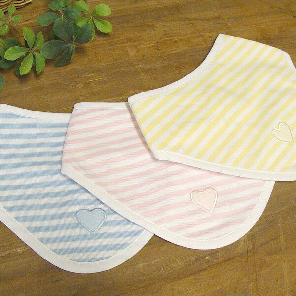[メール便可] trousselier トラセリア バンダナ ボーダースタイ〜フランス、トラセリアの洗っても型崩れしにくいおしゃれスタイです。赤ちゃんの日常生活の必須アイテム!