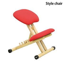 【送料無料】学習机用 スタイルチェア マルチチェア バランスチェア S字チェア リビングチェア ダイニングチェア キッズチェア デスクチェア 子供用イス 姿勢矯正チェア 学習椅子