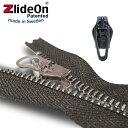 ズライドオン ZlideOn 3A-2 ブラック 角プルタブ 【ファスナー・ジッパー・スライダー・チャックの簡単修理ツール】…