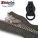 ズライドオン ZlideOn 8B-1 ブラック 丸プルタブ 【ファスナー・ジッパー・スライダー・チャックの簡単修理ツール】【動画】