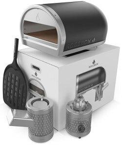 【送料無料】Roccboxロックボックスアウトドア用ピザオーブングレー