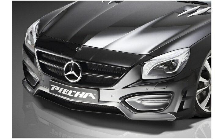 《PIECHA DESIGN ピーチャ デザイン》◇フロントバンパースポイラー◇Mercedes Benz メルセデス ベンツ SLクラス R231