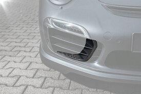 《TECHART テックアート》フロントエアロウィング カーボンPORSCHE ポルシェ 991 Turbo/S MY17