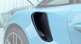 《TECHART テックアート》サイドエアインテイクカバー カーボンPORSCHE ポルシェ 991 Turbo/S MY17
