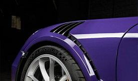 《TECHART テックアート》フロントフェンダーダクトパネル カーボンPORSCHE ポルシェ 991 GT3 RS